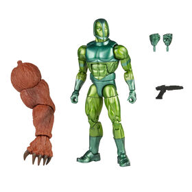 PRE-ORDER, SHIPS JUL 5, 2021 - Hasbro Marvel Legends Series 6-inch Vault Guardsman Action Figure Toy, Includes 3 Accessories and Build-A-Figure Part