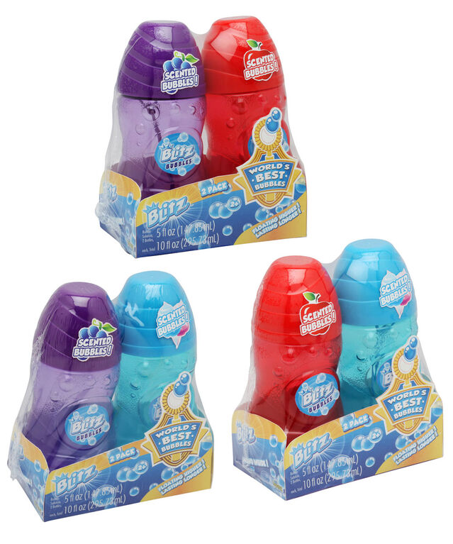 2 Flacons De Bulles Bubble Blitz 147,85 Ml