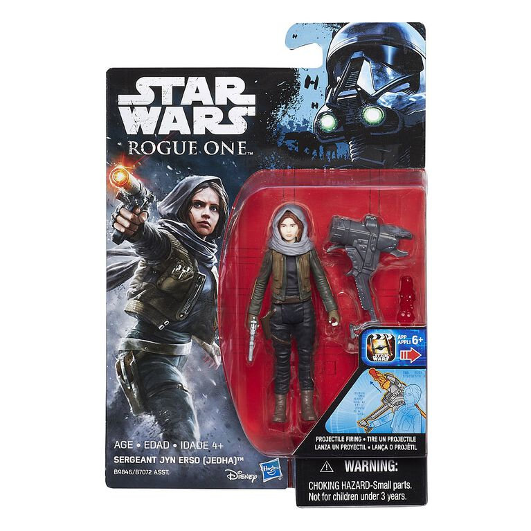 "Star Wars Rogue One Sergeant Jyn Erso (Jedha) 3.75"" Figure"