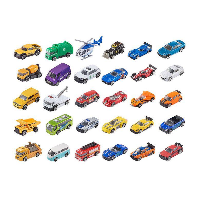 Lot de 5véhicules miniatures Teamsterz.