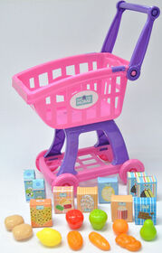 Just Like Home - Shopping Cart - Pink