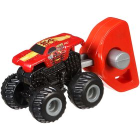 Hot Wheels – Monster Jam – Mighty Minis – Série 1 –  Emballage-mystère – Les styles peuvent varier.