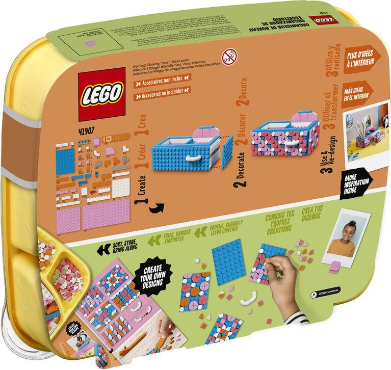LEGO DOTS La boîte de rangement 41907