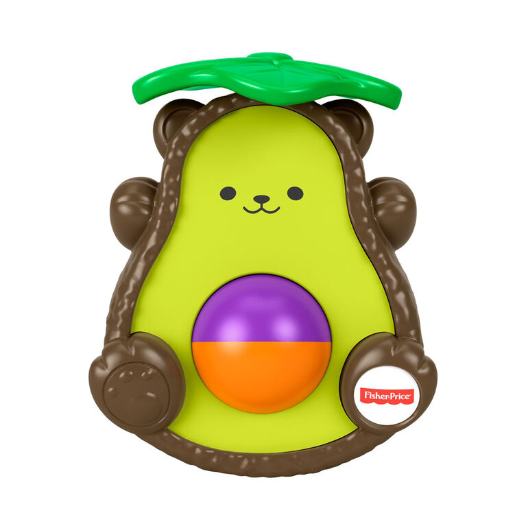 Fisher-Price - Ourson avocat à tapoter - Édition anglaise