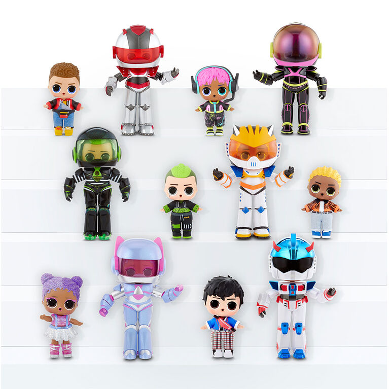 L.O.L. Surprise! Boys Arcade Heroes - Action Figure Doll with 15 Surprises - one doll per order