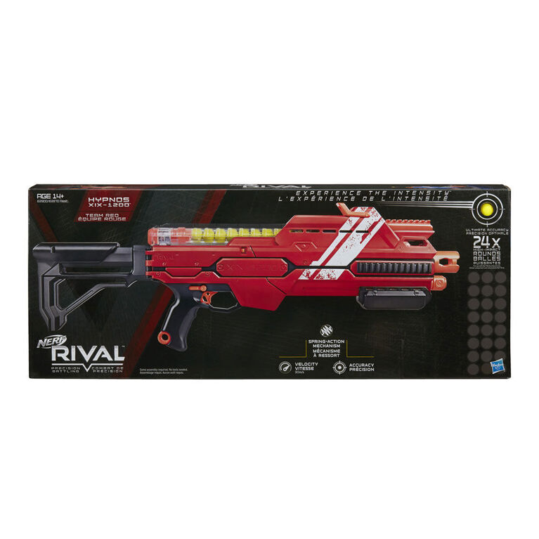 Nerf Rival - Hypnos XIX-1200 (rouge)