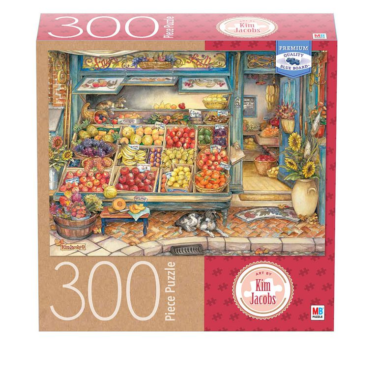 Artist Kim Jacobs - 300-Piece Adult Jigsaw Puzzle - Fruitful