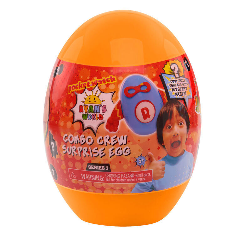 Ryan's World Combo Crew Surprise Egg (Colors May Vary)