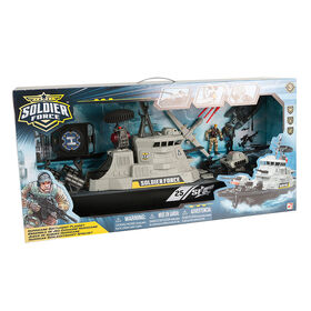 Soldier Force Hurricane Battleship Playset - R Exclusive