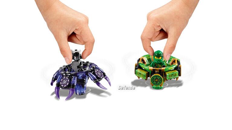 quite nice wide range exclusive shoes LEGO Ninjago Spinjitzu Lloyd vs Garmadon 70664