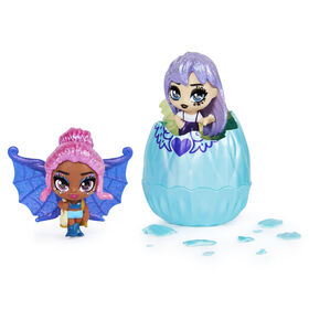 Hatchimals Mini Pixies 2-Pack, Glitter Angels 1.5-inch Collectible Dolls with Mix and Match Wings (Styles May Vary)