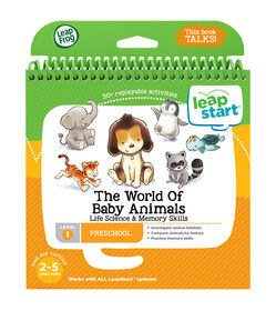 LeapFrog LeapStart The World of Baby Animals - Activity Book - English Edition