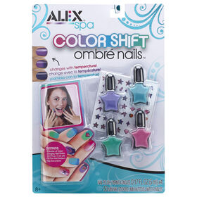 ALEX Spa Color Shift Ombre Nails.