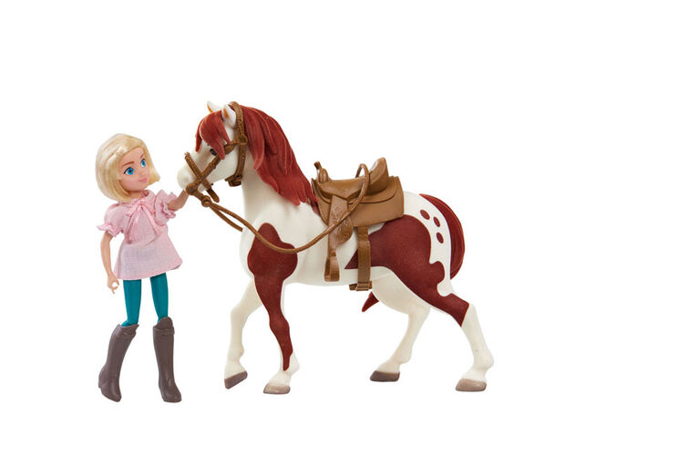 Spirit Small Doll and Horse - Abigail & Boomerang - R Exclusive