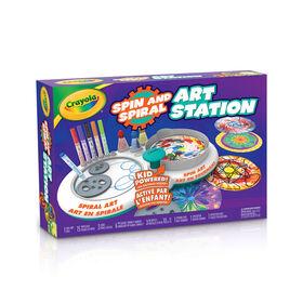 Station d'art Crayola Spin & Spiral