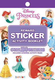 Disney Princess Reward Stickers - English Edition