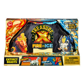 Treasure X Fire vs Ice Extinct Beasts  Single Pack