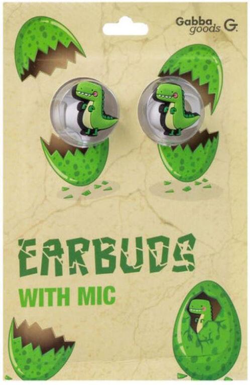 GabbaGoods Earbuds - Dino