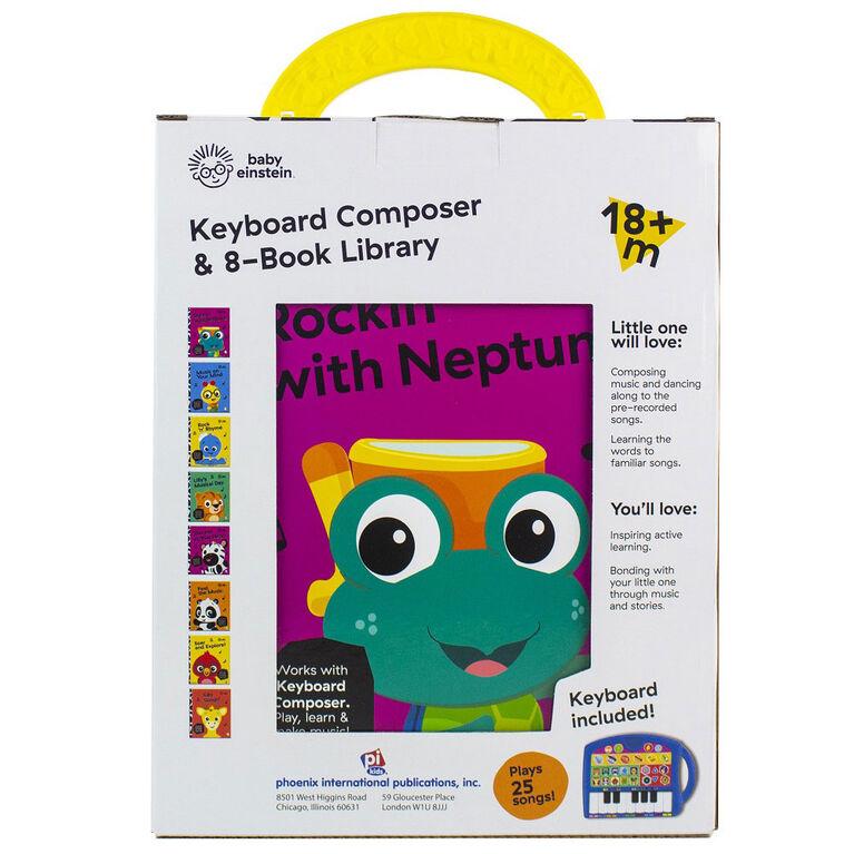 Baby Einstein Keyboard Composer & 8 Book Library