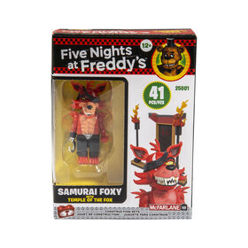 Micro ensemble de construction Five Nights at Freddy's - Temple of the Fox