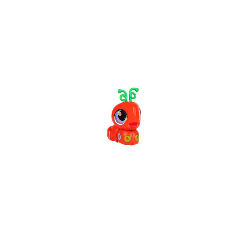 Build-a-Bot Minis - Orange Inchworm