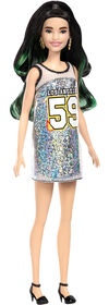 Barbie Fashionistas - Poupée<br>Robe Los Angeles 49.