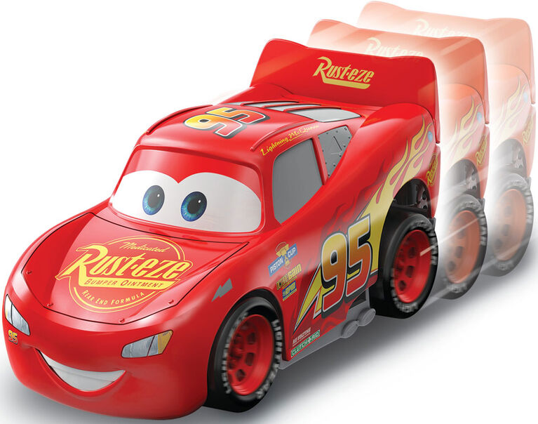 Disney/Pixar Cars Turbo Racers Lightning McQueen Vehicle - English Edition