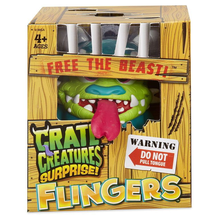 Crate Creatures Surprise! Flingers Series 2 - Styles May Vary