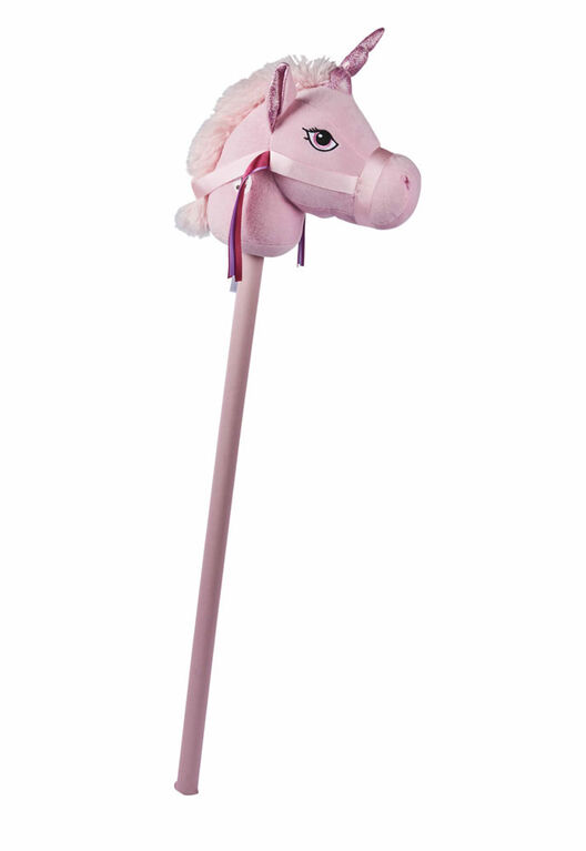 Animal Alley 34 inch Pink Stick Unicorn