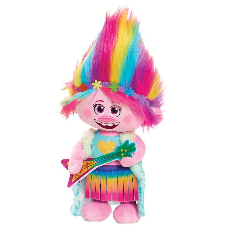 Peluche de Poppy Qui Danse Trolls World Tour - Édition anglaise - R Exclusif