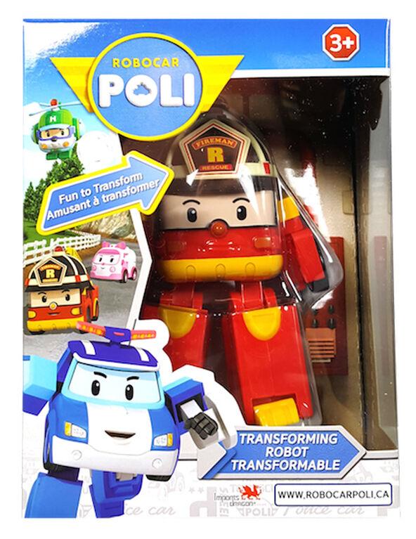 Robocar Poli - Robot transformable Roy