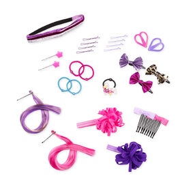 Our Generation, Rock N' Sweet Hair Accessory Set for 18-inch Dolls