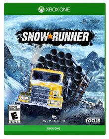 Xbox One Snowrunner a Mudrunner Game