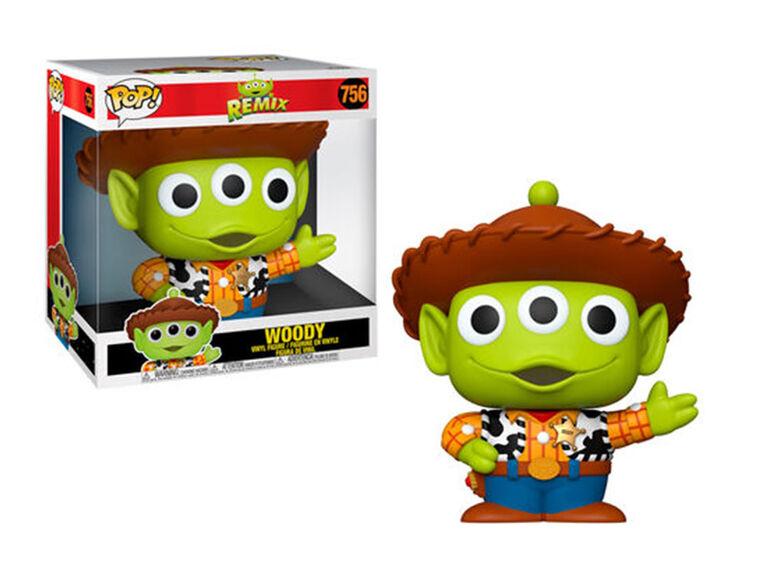 Funko POP! Disney Pixar: Alien Remix - Woody - English Edition