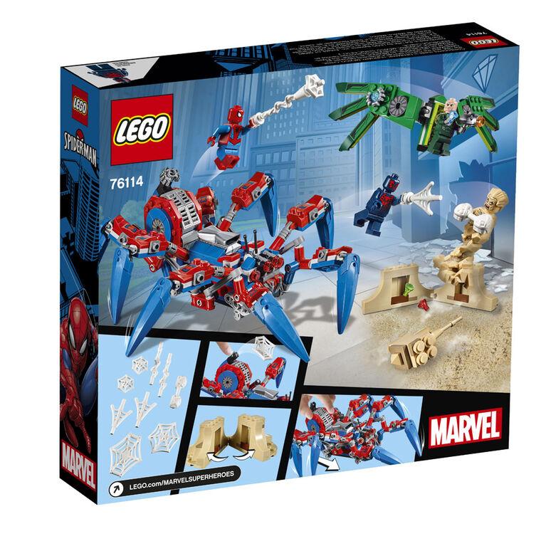 LEGO Super Heroes Spider-Man's Spider Crawler 76114