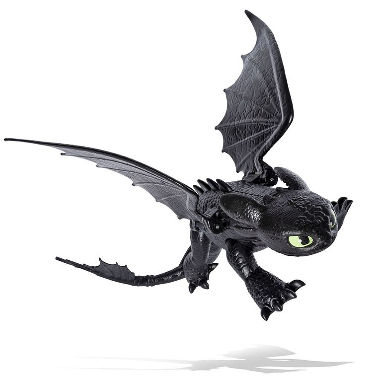 How To Train Your Dragon, Toothless Dragon Figure with Moving Parts