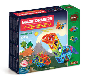 Magformers Mini Dino 40 Piece Set