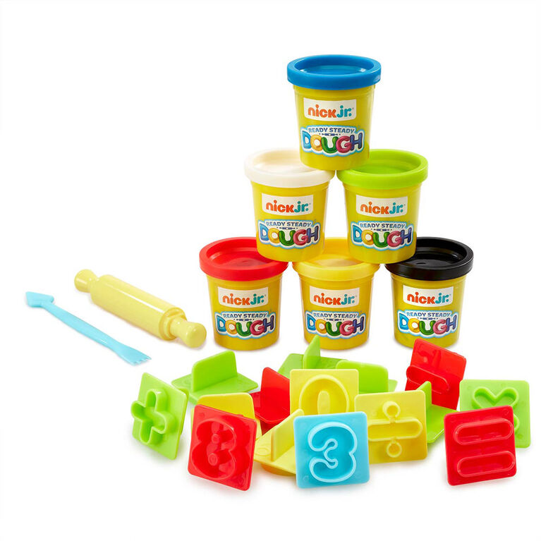 Nick Jr. Ready Steady Dough Number Fun Red Bus Accessories Set - R Exclusive