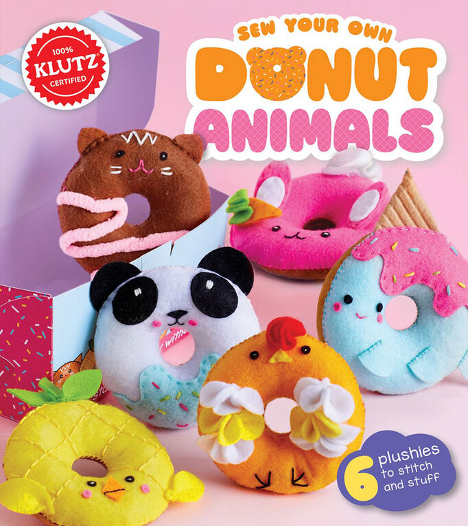 Scholastic - Klutz: Sew Your Own Donut Animals - English Edition