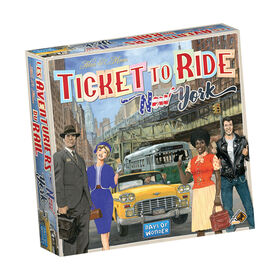 Ticket to Ride: New York - Édition anglaise