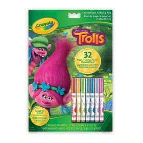 Colouring & Activity Pad, Trolls