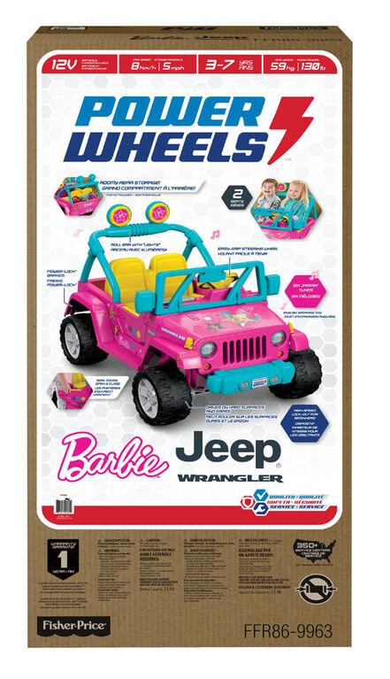 Power Wheels Barbie Jeep Wrangler