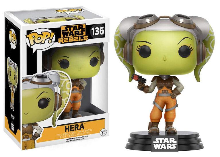 Funko POP! Animations: Star Wars Rebels - Hera Vinyl Figure