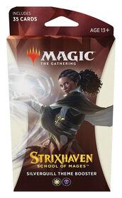"""Protège-cartes booster Thème """"Strixhaven: l'Académie des Mages"""" de Magic Le Rassemblement - Édition anglaise"""