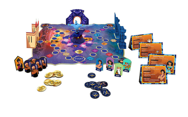 Retro '90s Disney Aladdin Board Game