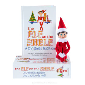 The Elf on the Shelf: A Christmas Tradition -Girl Light - English Edition