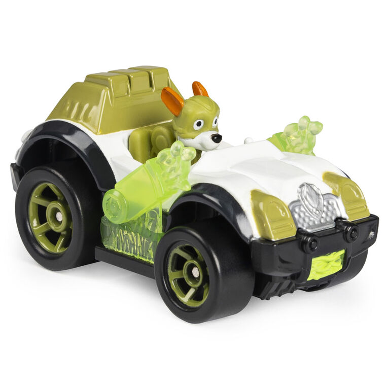 PAW Patrol, True Metal Mighty Tracker Super PAWs Collectible Die-Cast Vehicle, Mighty Series 1:55 Scale