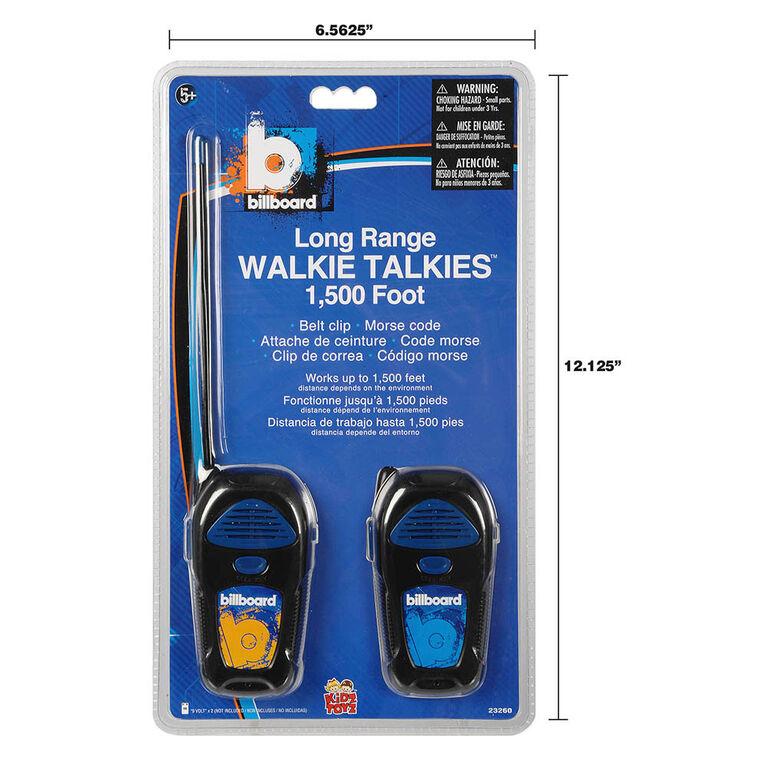 Billboard Longrange Walkie Talkies