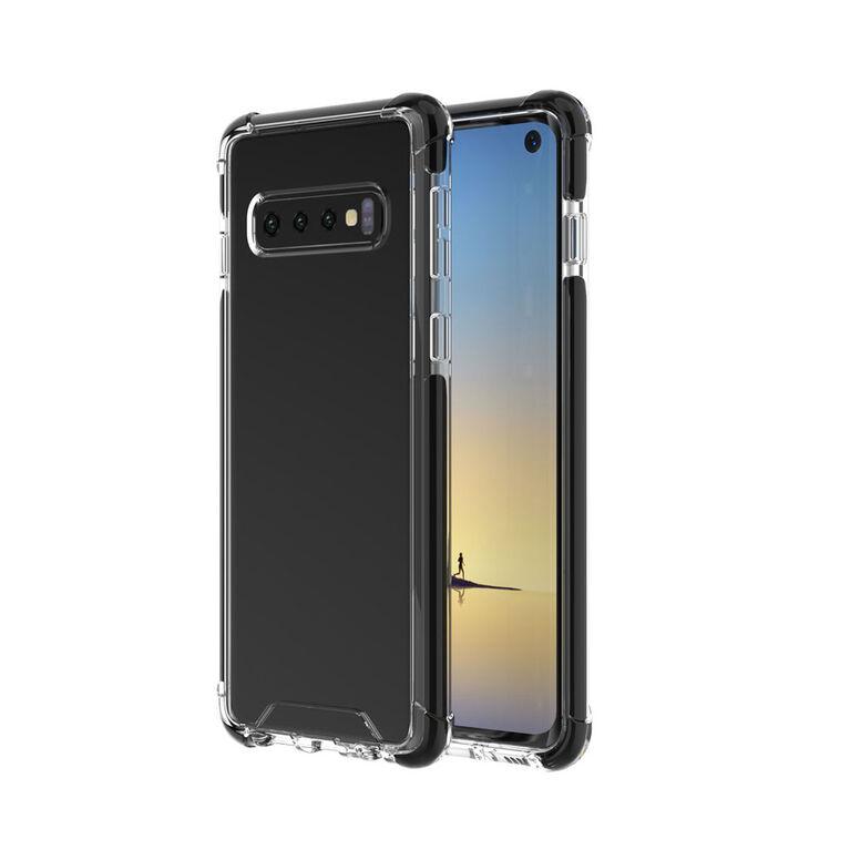 Blu Element Étui Robuste DropZone Noir pour Samsung Galaxy S10