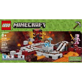 LEGO Minecraft Les rails du Nether 21130.